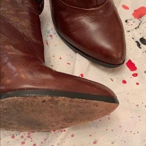 Coach Shoes - Coach Leather Booties